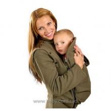 Демисезонная куртка-жилетка 2в1: беременность, слингоношние (ТМ Мамасик)