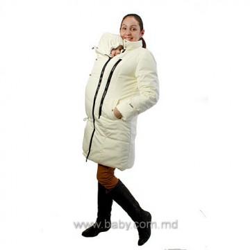 Palton pentru gravide, mamica impreuna cu copilul
