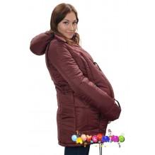 Scurta de iarna pentru gravide 3 in 1 BORDO (Katinka)