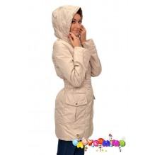 Демисезонная курточка для беременных и слингомам