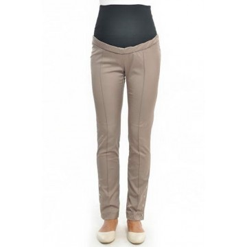 Pantaloni clasici pentru viitoarele mamici cu nasturi.