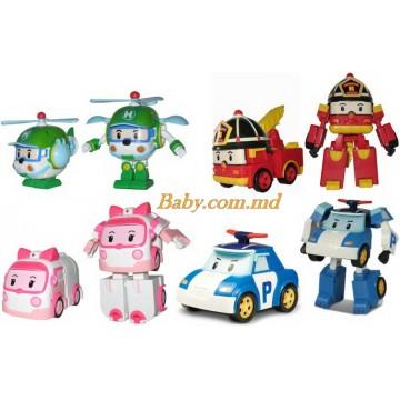 Jucarii Poli Robocar (set 4 masini)